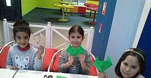 Gaziantepli Miniklerden Origami Şov