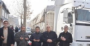 Genç'ten Halep'e 1 tır daha yardım gönderildi