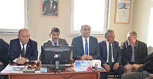 Genel Sekreter Tenekeci'den muhtarlara ziyaret