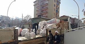 Halep'e Malatya'dan bir yardım eli daha