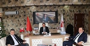 İslam Emiroğlu Harran Konaklama Tesisini ziyaret etti
