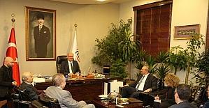 İsrail Büyükelçisi ATO'yu ziyaret etti