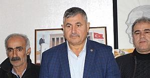Kahta Ziraat Odasından TBMM Başkanvekili Aydın'a destek