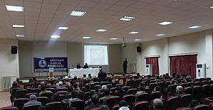 Kahta'da 'Kazan Havzası' paneli düzenlendi