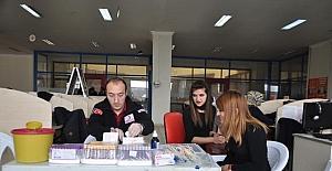 Kan bağışı çağrısı Kars'ta vatandaşları harekete geçirdi