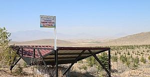 Karaman'da yaban hayvanları için su pınarları yapıldı
