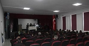 Kaymakam Keklik öğrenci servisleri ile ilgili toplantı düzenledi