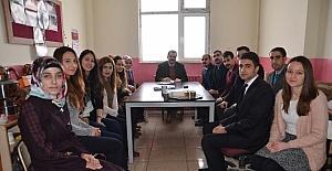 Kaymakam Özkan, öğretmenlerle bir araya geldi