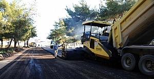 Kepez Kirişçiler Yolu'na 10 bin ton asfalt