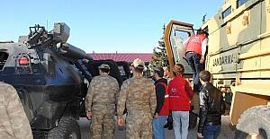 Kilisli gençler, Jandarma Komutanlığını ziyaret ettiler