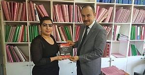 Kırıkkale Adliyesi'nde kitap okuma kampanyası
