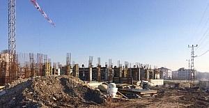 Kırklareli Adalet Sarayı'nın yapım çalışmaları devam ediyor