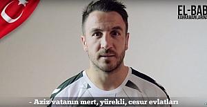 Konyasporlu futbolculardan Türk askerine mesaj