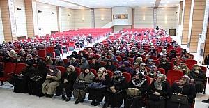 """Kur'an kursu öğreticilerine ve öğrencilerine """"Afet Eğitimi"""" semineri"""