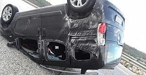 Kuşadası'nda trafik kazası, 1 yaralı