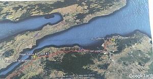Lapseki'de doğal gaz döşeme çalışmaları başlıyor
