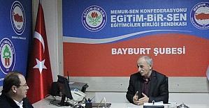 Memur-Sen Bayburt İl Temsilciliğinin eğitim ve sosyal faaliyetleri devam ediyor