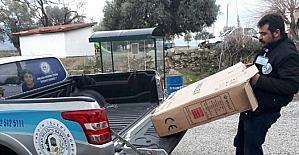 Milas Belediyesi'nden ihtiyaç sahiplerine tekerlekli sandalye yardımı