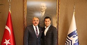 Milas Kızılay Şubesi'nden Başkan Kocadon'a ziyaret