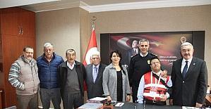 Milas Kızılay yönetiminden Ava'ya ziyaret