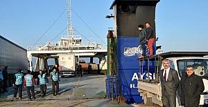 Mudanya İstanbul Ro-Ro seferleri başladı