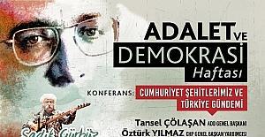 Muratpaşa'da Adalet ve Demokrasi Haftası etkinlikleri