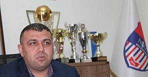 Niğde Belediyespor Kulüp Başkanı Yakup Yerlikaya;