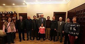 Odunpazarı Kent Konseyi 75. Yıl Mahalle Meclisi, Başkan Kurt'u ziyaret etti
