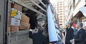Oflular Suriyeli kardeşleri için yardıma koştu