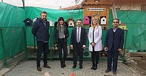 Öğrencilerden sokak hayvanları için barınak
