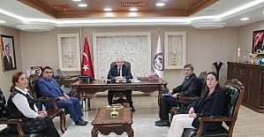 Okul idarecileri, Vali Zorluoğlu'nu ziyaret etti