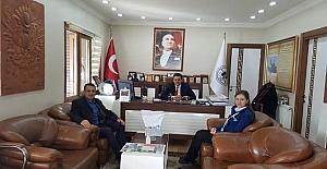 Pazaryerililer Dernek Başkanı Tekelioğlu'ndan Başkan Yalçın'a ziyaret