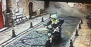 Polis memuru ölümden kurtuldu