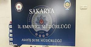 Sakarya'da 4 ayrı iş yerini soyan hırsızlar yakalandı