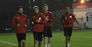 Samsunspor'un 5 yeni transferi idmanda