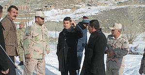 Saray Kaymakamı Bayır, İran heyeti ile bir araya geldi