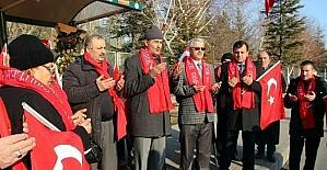 Sivaslı Şehit Aileleri ve Gazileri 'Şehitler durağı'nı ziyaret etti