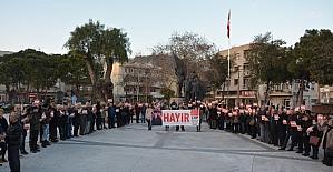 Söke CHP'den anayasa eylemi