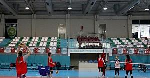 Sultanlar, Maltepe Yalıspor maçına hazırlanıyor