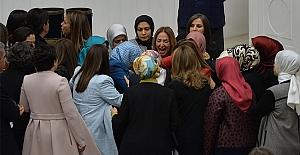 TBMM'de milletvekilinden kelepçeli eylem