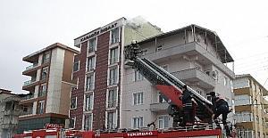 Tekirdağ'da ev yangını