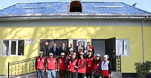 TİKA'dan Tacikistan Kızılay Cemiyetine tadilat ve donanım desteği