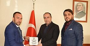 TÜGVA'dan Vali Yardımcısı Altay'a Ziyaret