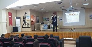 Tut ilçesinde milli eğitim personellerine iş güvenliği eğitimi verildi