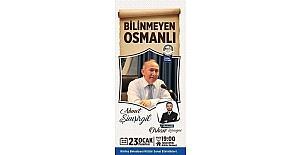 Tütünçiftlik Kültür Merkezi Ahmet Şimşirgil'i ağırlayacak
