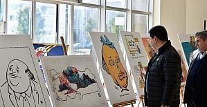 Tütüncü 'Demirel' karikatürleri sergisinde