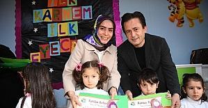 Tuzla Belediyesi Anne Çocuk Eğitim Merkezi'nde karne heyecanı