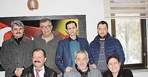 Uşak Gazeteciler Derneği Başkanlığına Tekrar Salih Kılınç Seçildi