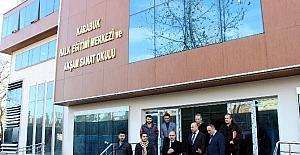 Vali Aktaş, Milli Eğitim Müdürlüğü binasından incelemelerde bulundu
