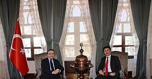 Vali Çataklı, yeni atanan Rektör Karacoşkun'u Kabul Etti